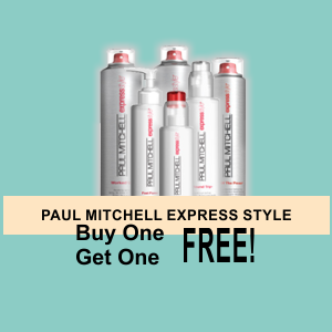 Buy One Get One FREE! PAUL MITCHELL Express Style