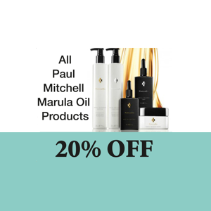20% OFF All Paul Mitchell Marula Oil Product!