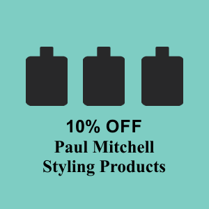 10% OFF All Paul Mitchell Styling Products!