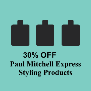 30% Off Paul Mitchell Express Products! April & May 2016