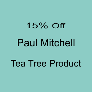 15% Off all Paul Mitchell Tea Tree Products! Dec2019 - Jan2020